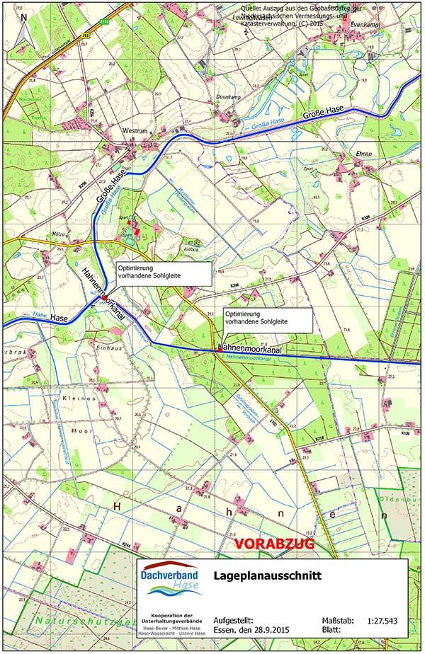hahnenmoorkanal-uebersichsplan